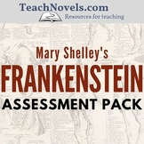 Frankenstein Assessment Pack (assignments and test materials)