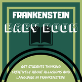 Frankenstein Baby Book - Creative project!