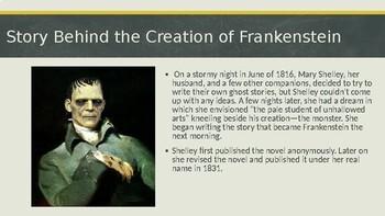 Frankenstein Background Powerpoint