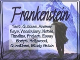 FRANKENSTEIN BUNDLED TEACHER PACK