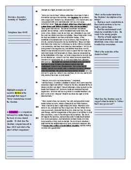 Frankenstein Ch 10 Tiered Reader