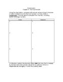 Frankenstein Chapter 9 Worksheet
