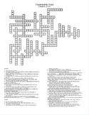 Frankenstein Chapters 21-24 Crossword Puzzle