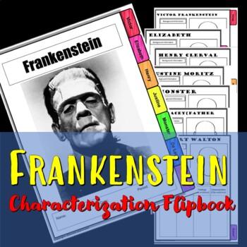 Frankenstein Characterization Flip book
