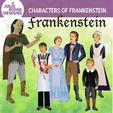 Frankenstein Characters clip art — 24 illustrations