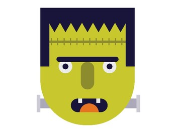 Frankenstein Clip Art Pack