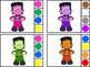 Frankenstein Color Activities