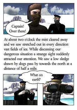 Frankenstein Comic - Captain Walton's Letters