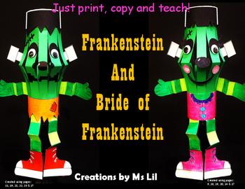 Frankenstein  Craft  ::  Halloween Activities