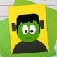Frankenstein Craft - Halloween Paper Craft Activity