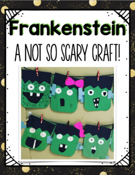 Frankenstein Craft and Writing