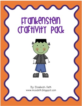 Frankenstein Craftivity Pack