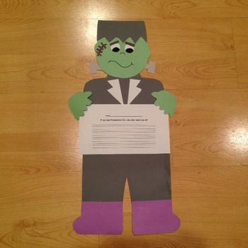 Frankenstein Craft and Printables