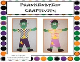 Frankenstein Craftivity and Literacy Activities
