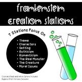 Frankenstein by Mary Shelley: Creation Stations