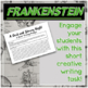 Frankenstein Creative Writing Pre-Reading Challenge