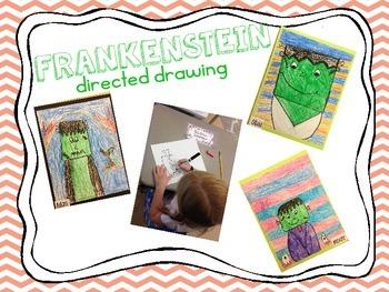Frankenstein Directed Drawing
