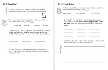 Frankenstein Doesn't Start Food Fights Independent Reading Packet, Grades 2-4