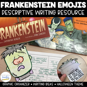 Frankenstein Emoji Writing {Halloween Fun!}