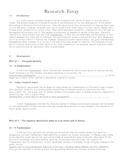 Frankenstein Essay Template