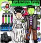 Frankenstein Family Clip Art