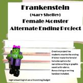 Frankenstein Female Monster Alternate Ending Project (Mary