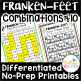 Frankenstein Feet Compose & Decompose 10: DIFFERENTIATED N