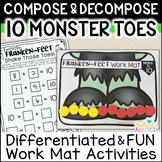 Frankenstein Feet Compose & Decompose 10: DIFFERENTIATED W