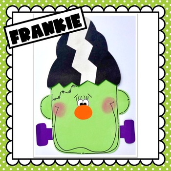 Frankenstein & Frankie Girl: Halloween Craft