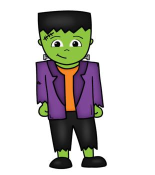 Frankenstein Freebie Clipartist Collab