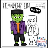 Frankenstein Freebie Clipartist Collab