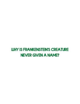 Frankenstein Gallery Walk