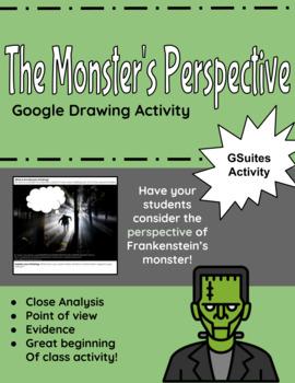 Frankenstein Google Activity: The Monster's Perspective