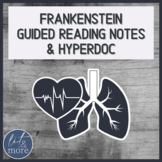 Frankenstein Guided Reading Notes for AP Lit
