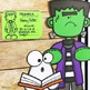 Frankenstein Halloween Bulletin Board or Door Kit