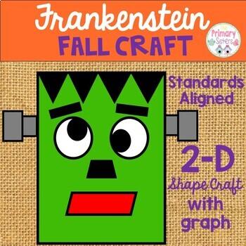 Frankenstein Halloween Fall Shape Craft
