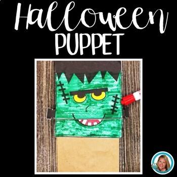 Frankenstein Halloween Puppet