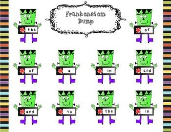 Frankenstein High-Frequency Word Bump