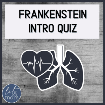 Frankenstein Intro Quiz - Creative Pop Quiz Activity to Dispel Hollywood Myths