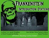 Frankenstein Introduction Stations