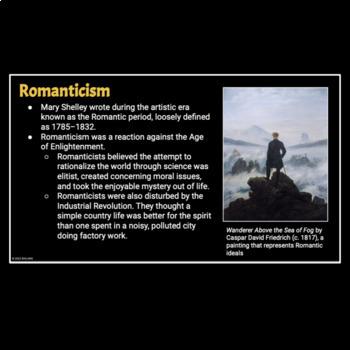 Frankenstein Introductory PowerPoint