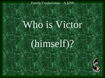Frankenstein Jeopardy Novel Review