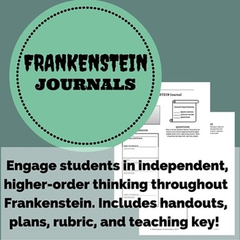 Frankenstein Journals - Vocab, discussion, dialectical! Use throughout the book!