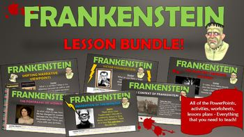 Frankenstein Lesson Bundle!