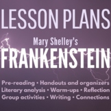 Frankenstein Lesson Plans: 21 Great Lessons for Mary Shell