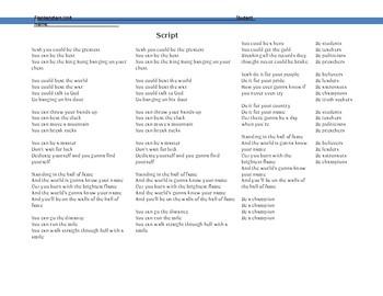 Frankenstein: Letters 1-4 In Song