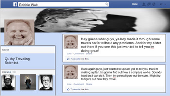 Frankenstein Letters Social Media Review