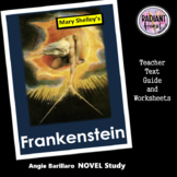 Frankenstein-Mary Shelley Teacher Text Guides and Worksheets
