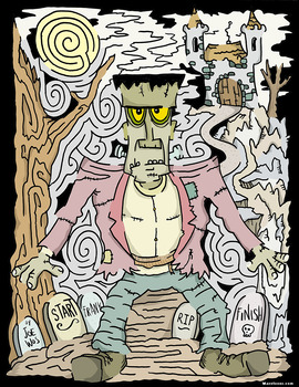 Frankenstein Maze