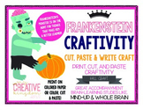 Frankenstein Monster Craft - Become a Better Learner Craftivity